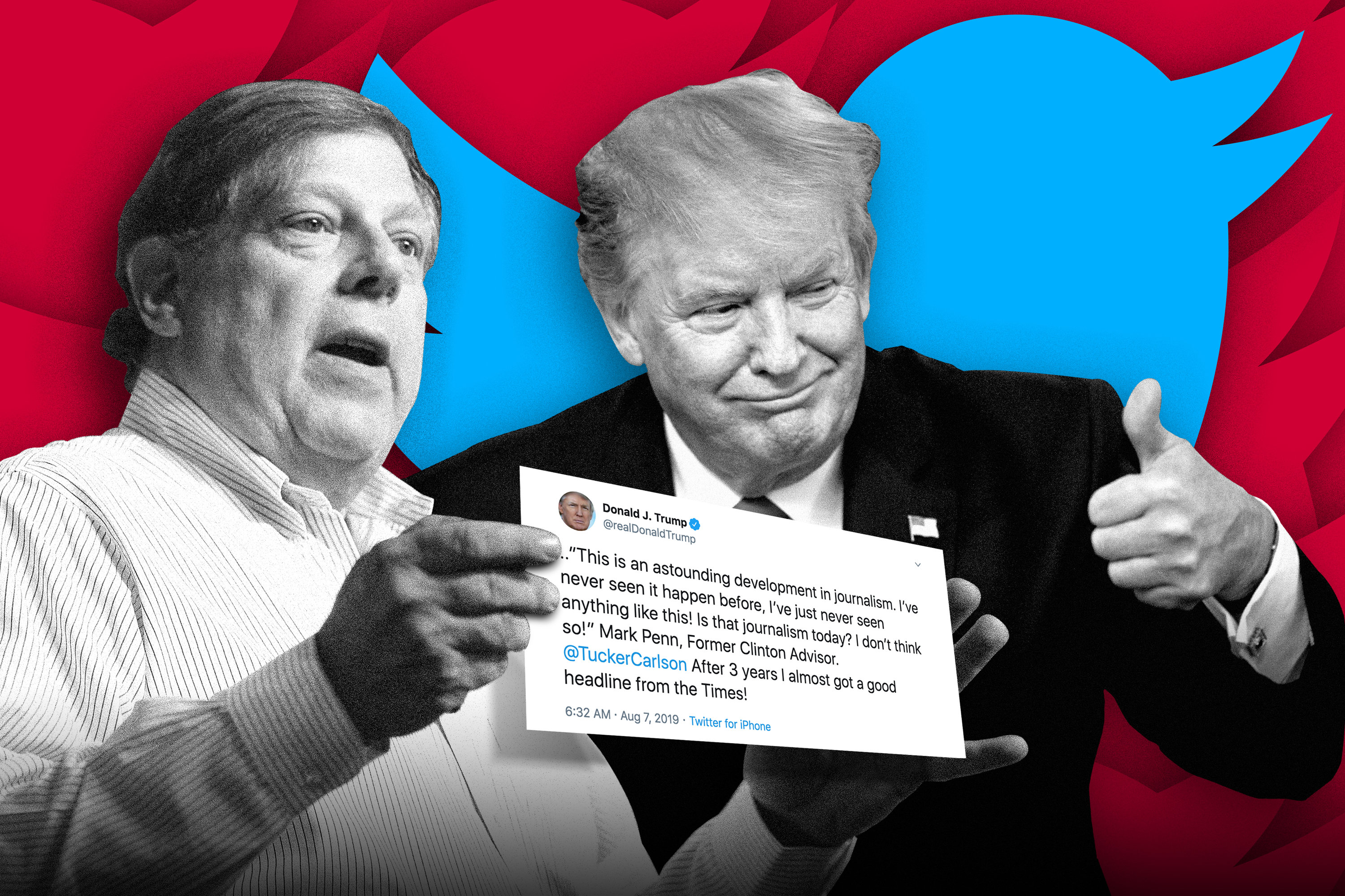 Mark Penn denies counseling Trump on impeachment