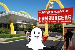 McDonald's Joins Throng of Marketers Experimenting With Snapchat