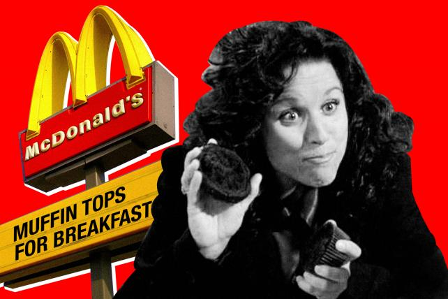 McDonald's wants to win breakfast by selling muffin tops