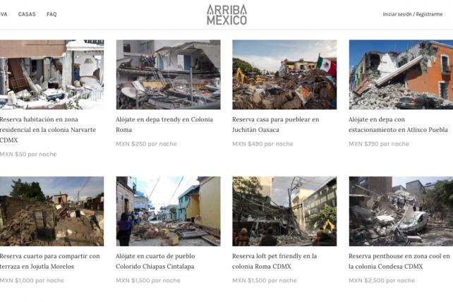 Arriba Mexico Is the Airbnb for Homes Destroyed by Earthquake