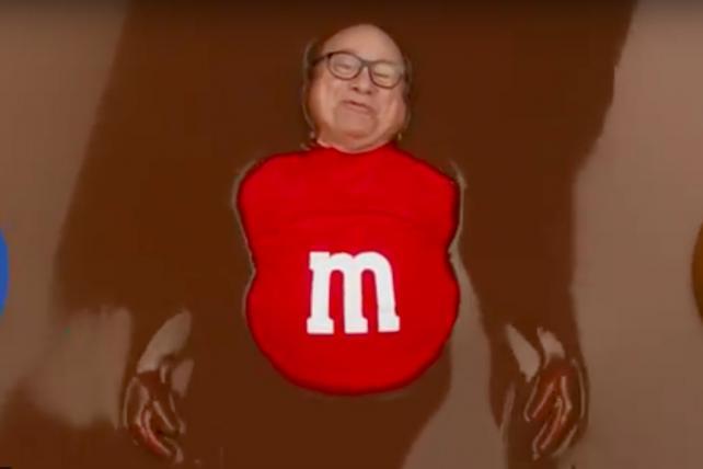 M&M's returns for Super Bowl LIII