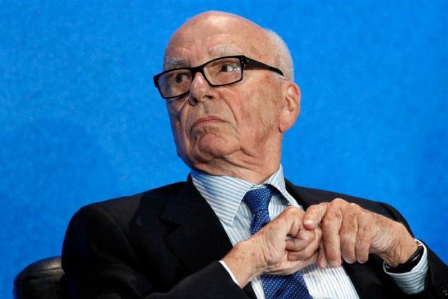 Murdoch Follows Strategy That Won Dow Jones: Pounce, Leak, Wait