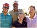 Celebrities Go Golfing for ESPN