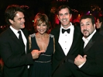 Emmy Parties Attract 'Heroes'