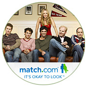 Perfect Pair: Fling Between Match.com, 'My Boys' Boosts Both Brands