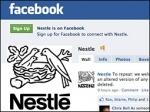Nestle Facebook page