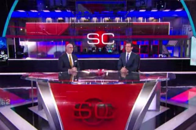 ESPN Lights Up New TV Studio for Screen-Obsessed Viewers