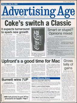 Advertising Age, July 15, 1985