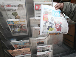 Newspapers' Paid Circulation Losses Shrink