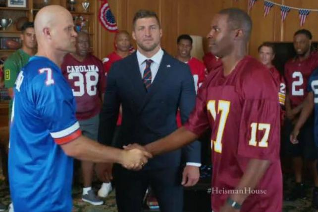 Tim Tebow Tries to Tame Team Rivalries in New Nissan Ad