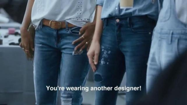 Julia Louis-Dreyfus Ditches Haute Couture for Old Navy Jeans
