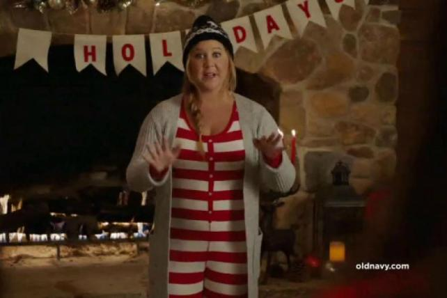 Old Navy Throws a Pajama Party With Amy Schumer: It's Last Night's New Ads