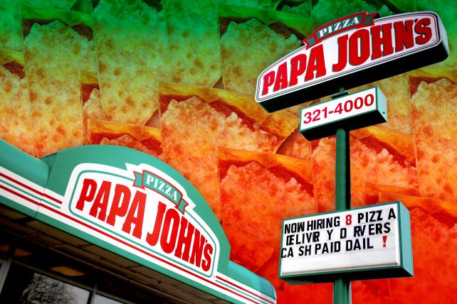 Papa John's ad puts real employees to work fixing its brand