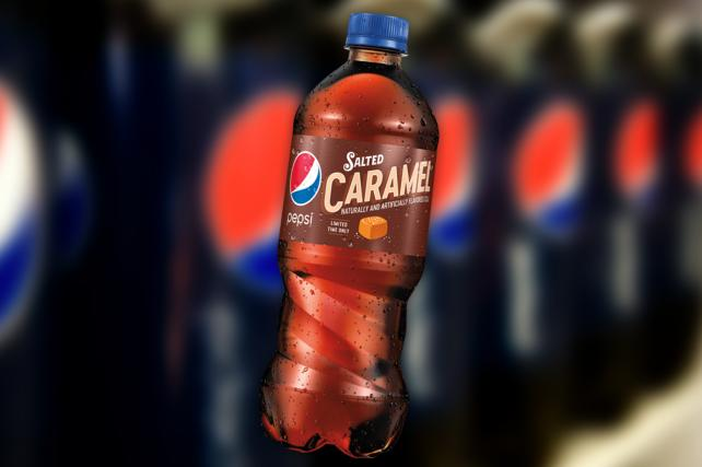 Holiday Food, Beverage Blitz Includes (We're So Sorry) Pepsi Salted Caramel