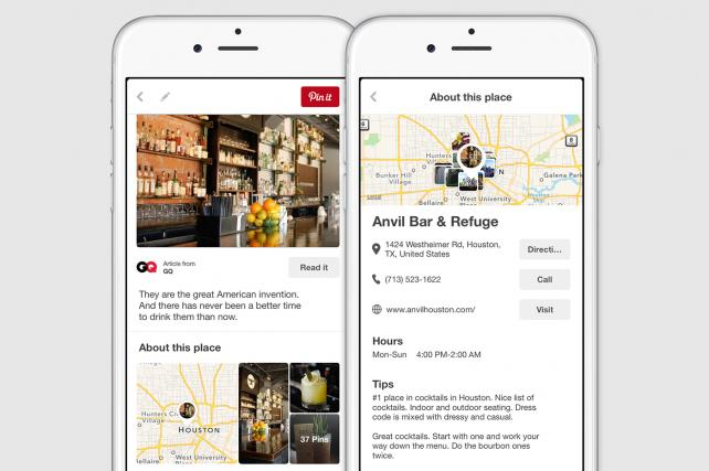 Pinterest Doubles Down With Location-Based Service