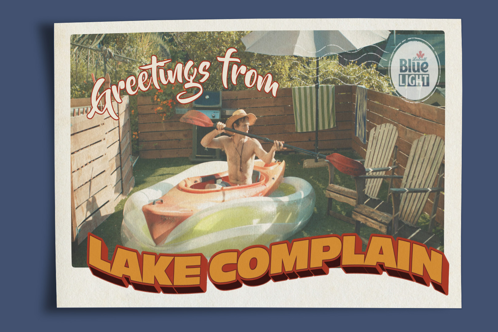 Labatt: Fake it 'til you Lake it