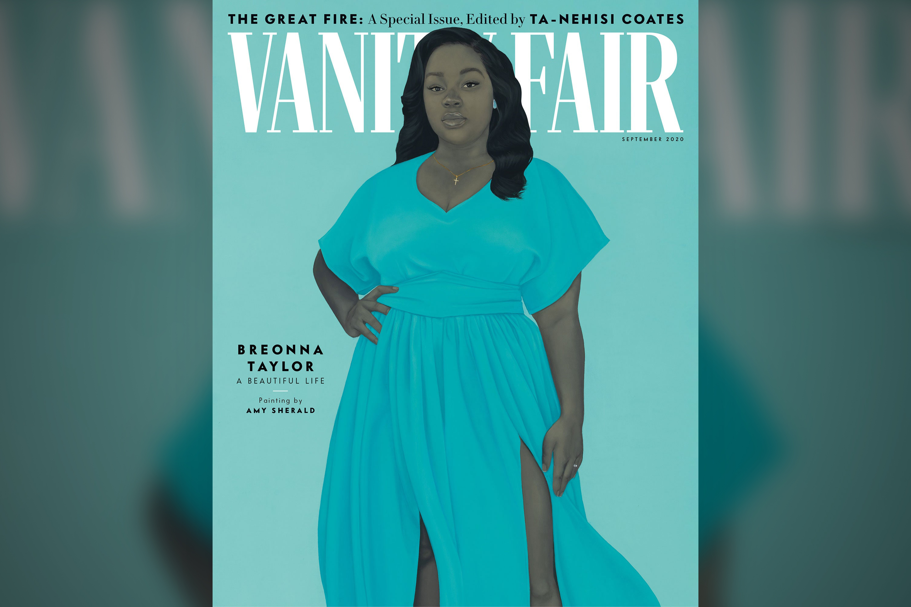 'The Great Fire': A Breonna Taylor portrait cover Vanity Fair's September special issue