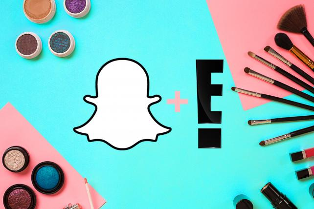 E!'s Latest Snapchat Show Is a Take on the Makeup Tutorial