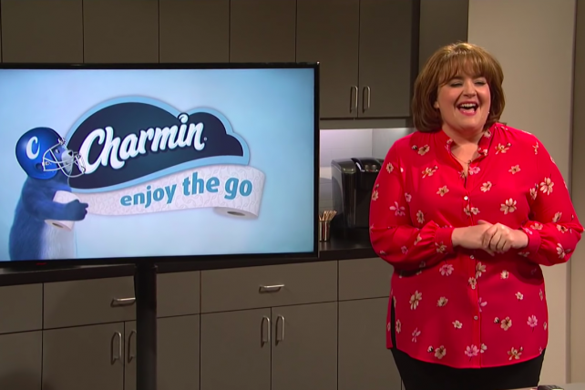 Watch: A (fake) Charmin Super Bowl commercial gets torturously focus-grouped by 'SNL'
