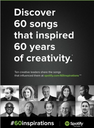 Spotify Asks Creative Leaders What Music Inspires Them