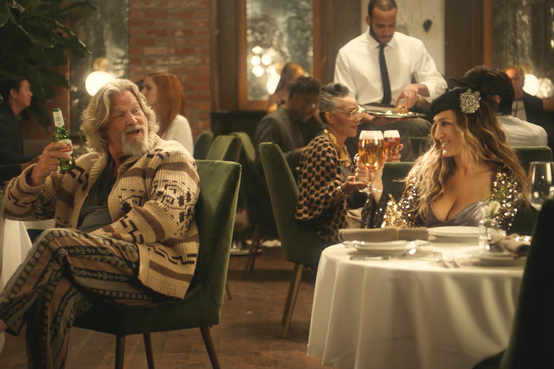 Stella Artois reprises 'The Big Lebowski' and 'Sex and the City' in Super Bowl ad