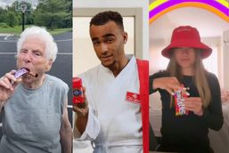 TikTok remakes iconic Skittles, Snickers and Old Spice ads