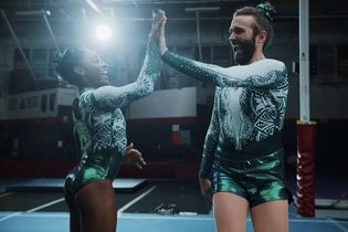 Simone Biles and Jonathan Van Ness are the 'duo you never realized you needed' in Uber Eats' matchup ads