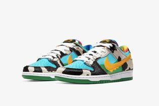 These Nikes have Ben & Jerry's all over them