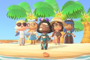 Gillette Venus adds acne, cellulite, scars, vitiligo and more skin tones to Animal Crossing characters