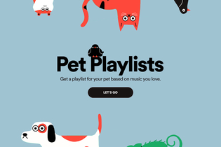 Meow-sic! Spotify now has playlists for your pets