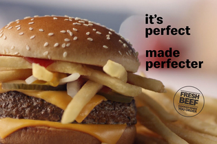 Brian Cox waxes poetic about the Quarter Pounder in Wieden & Kennedy New York's first McDonald's ads