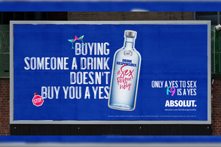 Absolut debuts new 'Sex Responsibly' campaign to highlight importance of consent