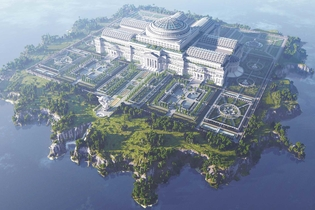 Reporters Without Borders built an 'Uncensored Library' in Minecraft