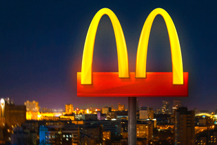 McDonald's removes its coronavirus message featuring separated golden arches