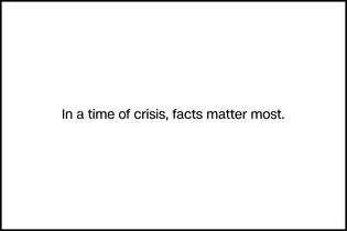 CNN's coronavirus ad quietly highlights the role of facts during the crisis