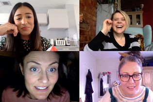 Girlfriends socialize in isolation in Maltesers' comedic video call ads