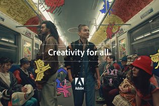 Adobe turns a subway ride into a fantastic voyage