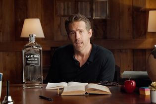 Ryan Reynolds debuted a 'Home School' edition of Aviation Gin and it is ginormous