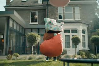 The 'Muppet Show' theme backs John Lewis' jaunty spot about the fun you can have while stuck at home