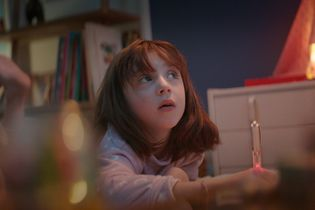 A girl worries about Santa in Carrefour's holiday ad highlighting its hardworking employees