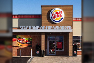 Burger King removes 'Whopper' from its signage in its 'Stay Home' message