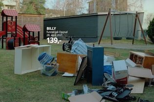 Dumped Ikea furniture stars in its 'Trash Collection' campaign