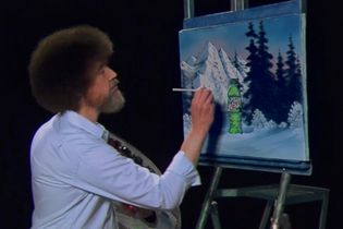 Mtn Dew brings back Bob Ross to teach you how to paint the soda