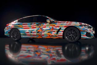 BMW creates the 'Ultimate AI Masterpiece' for installation at Frieze New York