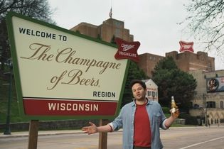 Miller High Life is lobbying to make area around its Milwaukee brewery an official 'Champagne of Beers' region