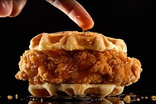 Carl's Jr. enters the chicken sandwich wars with intense food porn