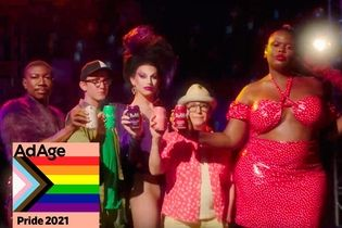 Bubly's dazzling Pride ad welcomes back NYC nightlife