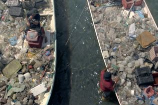 Corona rewards fishermen for 'catching' plastic from the ocean