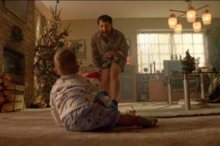A boy finally comes to appreciate 'dad dancing' in this French holiday ad