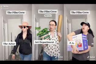 These TikTok videos nail just about everyone on a film set